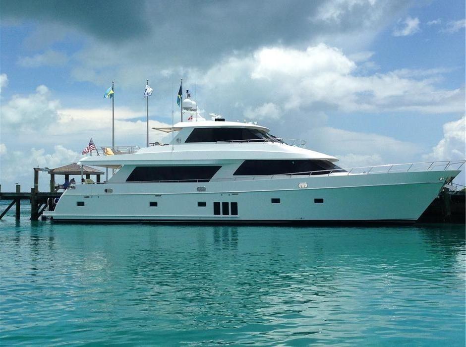 2012 Ocean Alexander Enclosed Bridge Power Boat For Sale