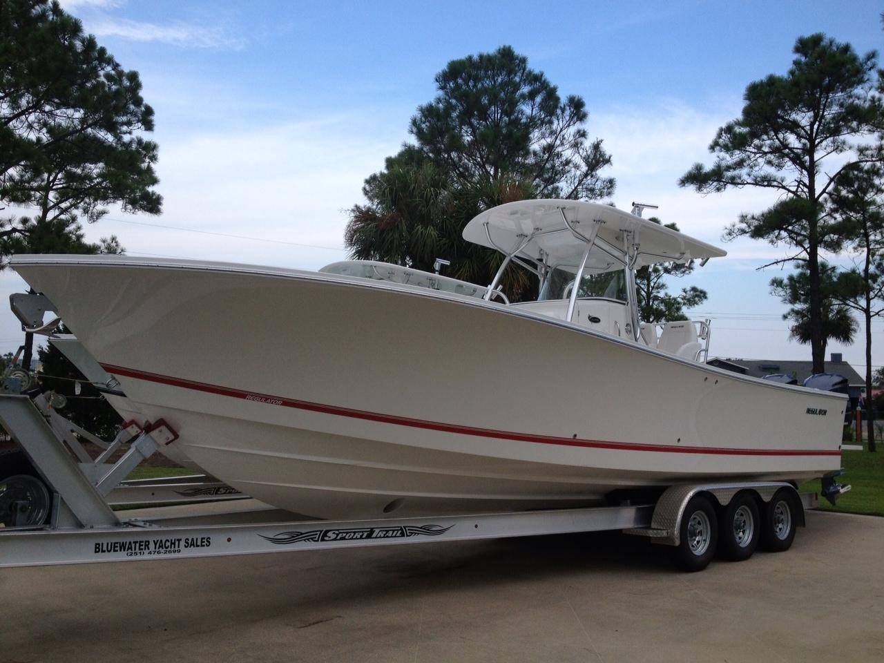 34 ft 2013 regulator 34ss