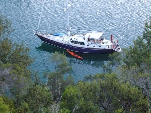 1995 Warwick 53 Pilothouse Cutter Sail Boat For Sale Www