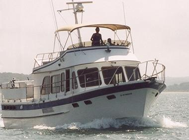 43 ft 1979 defever 43 trawler