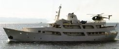 1961 Dutch Steel Displacement 40m YACHT MUST BE SOLD