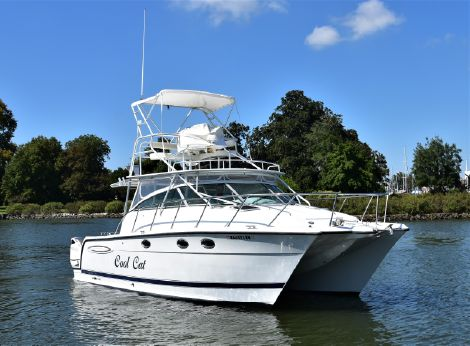 Glacier Bay 3470 Ocean Runner with 2019 Suzuki 350's