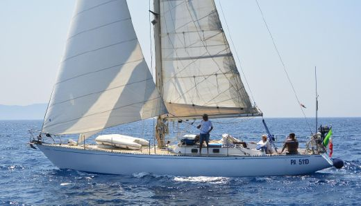 1976 Sparkman And Stephens 45 Cutter Sloop