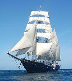 1997 Custom Three-Masted Square-Rigged Barquentine Tall Ship