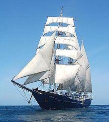 1997 Custom Three-Masted Square-Rigged Barquentine Tall Ship