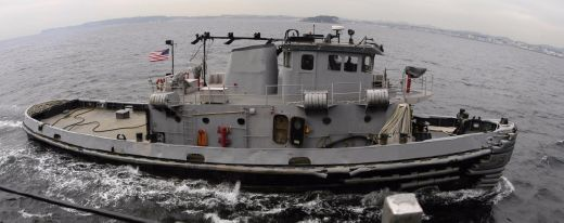 1965 Us Navy Harbor Tug 2000 Hp Single Screw - Working Condition