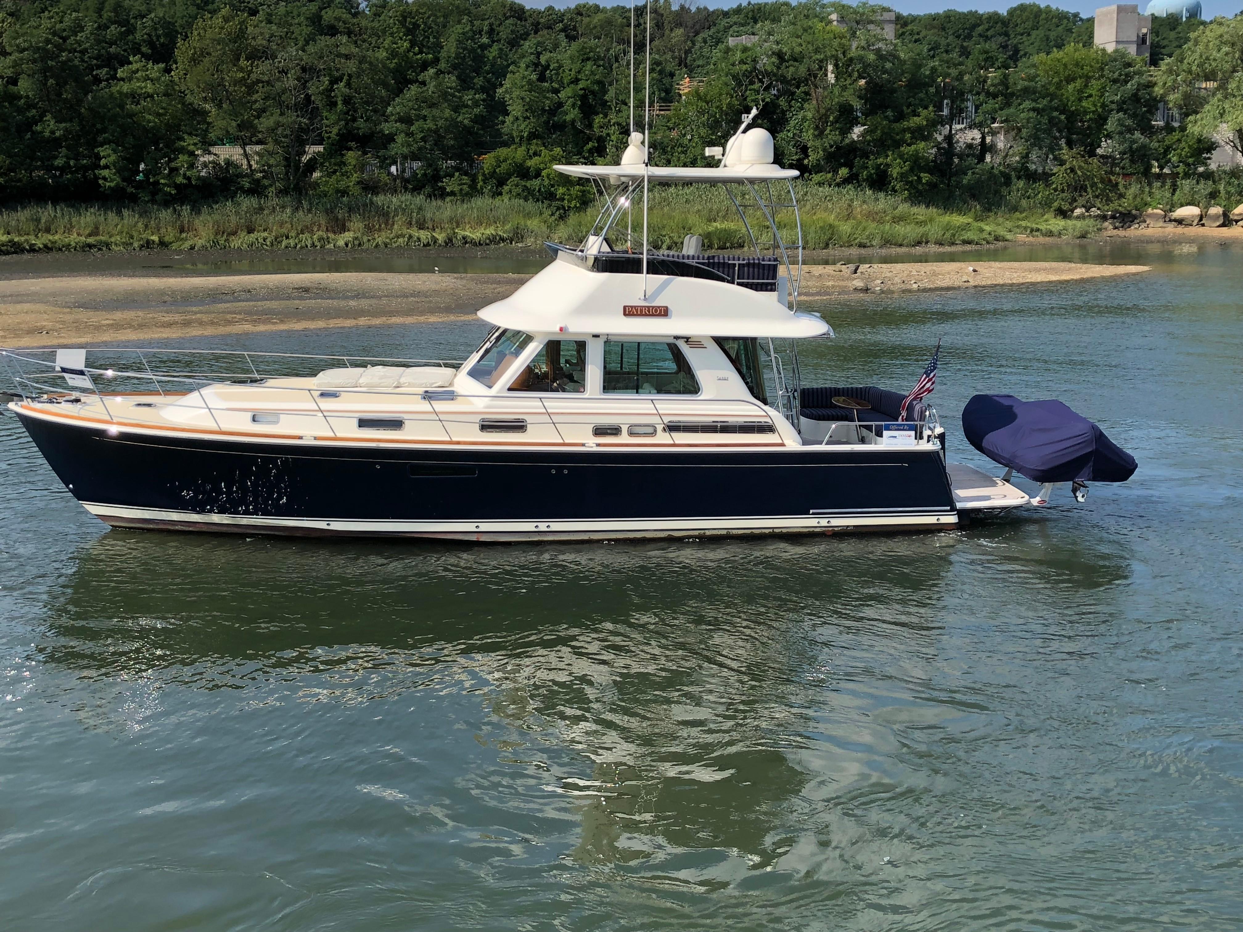 2018 Sabre 48 Flybridge Power Boat For Sale - www.yachtworld.com
