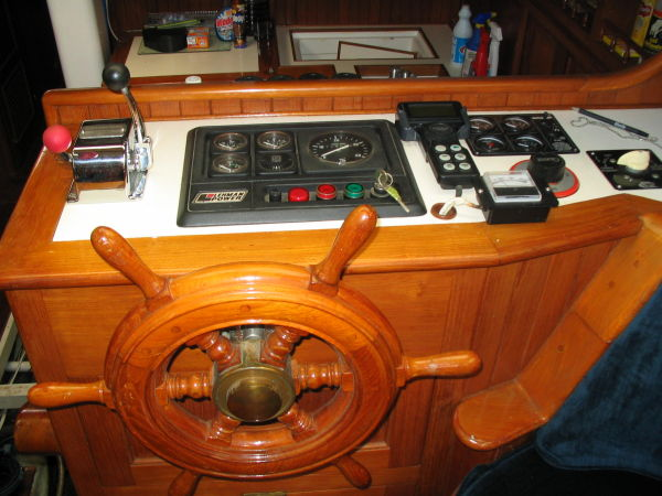 51' Hudson Force 50 (Mikelson 51) +Pilothouse helm