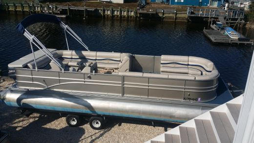 1996 Riviera Cruisers 26 pontoon