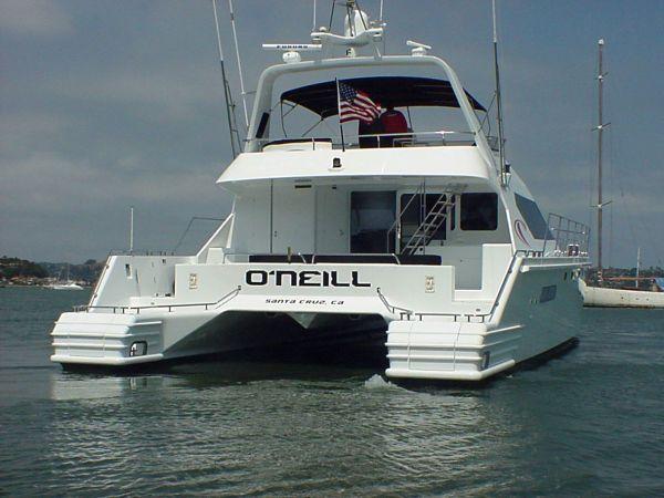 1995 Awesome Boats - New Zealand Custom Power Catamaran MY ...  1995 Awesome Bo...