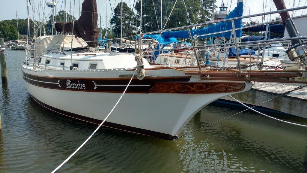 1986 bayfield 36 voilier bateau vendre. Black Bedroom Furniture Sets. Home Design Ideas