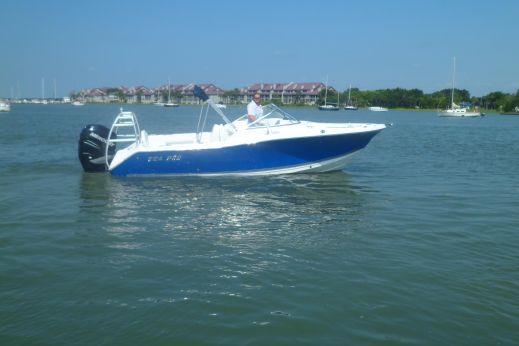 2008 Sea Pro 228 Dual Console
