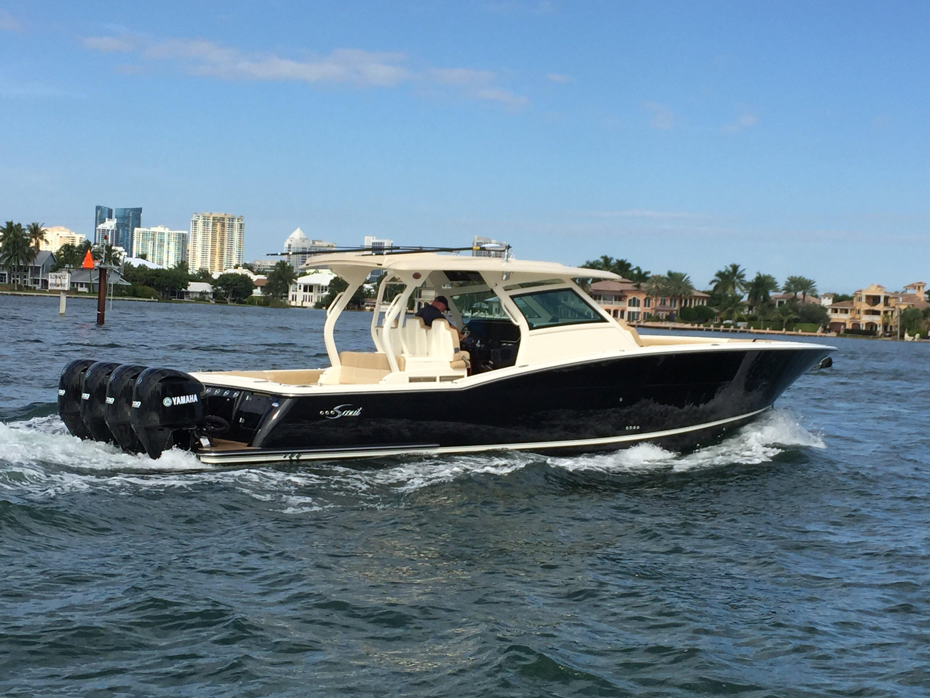 2017 Scout 420 Lxf Power Boat For Sale Www Yachtworld Com