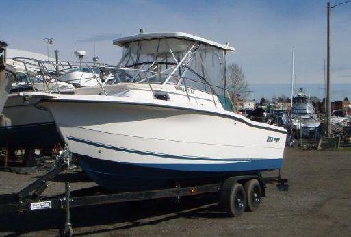 2001 Sea Pro 235 WA Hard Top