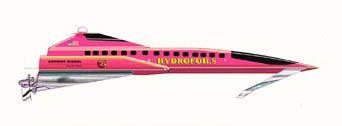 2015 Hydrofoil Hi-tech Rail Speed Shuttle