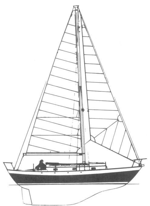 1990 Victoria 30 Sail Boat For Sale