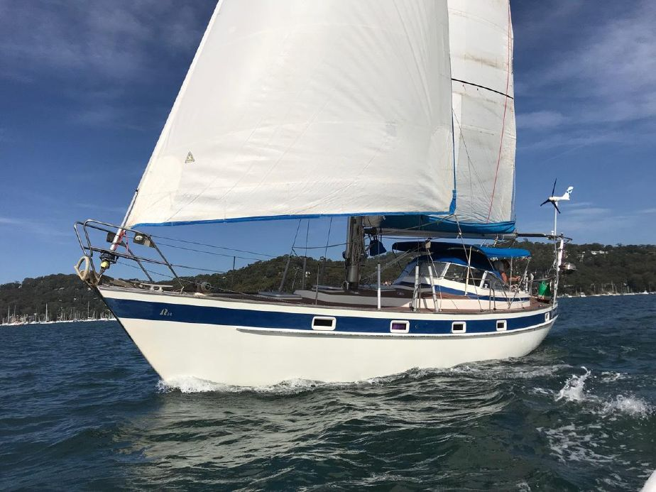 1980 Hallberg-Rassy 38 Sail Boat For Sale - www yachtworld com