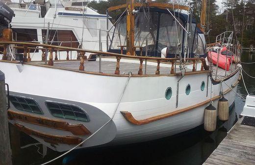 1982 Island Trader Staysail Ketch 51