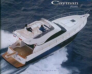 2001 Cayman 42 Fly