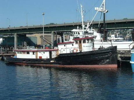 1923 Vancouver Shipyard Tug