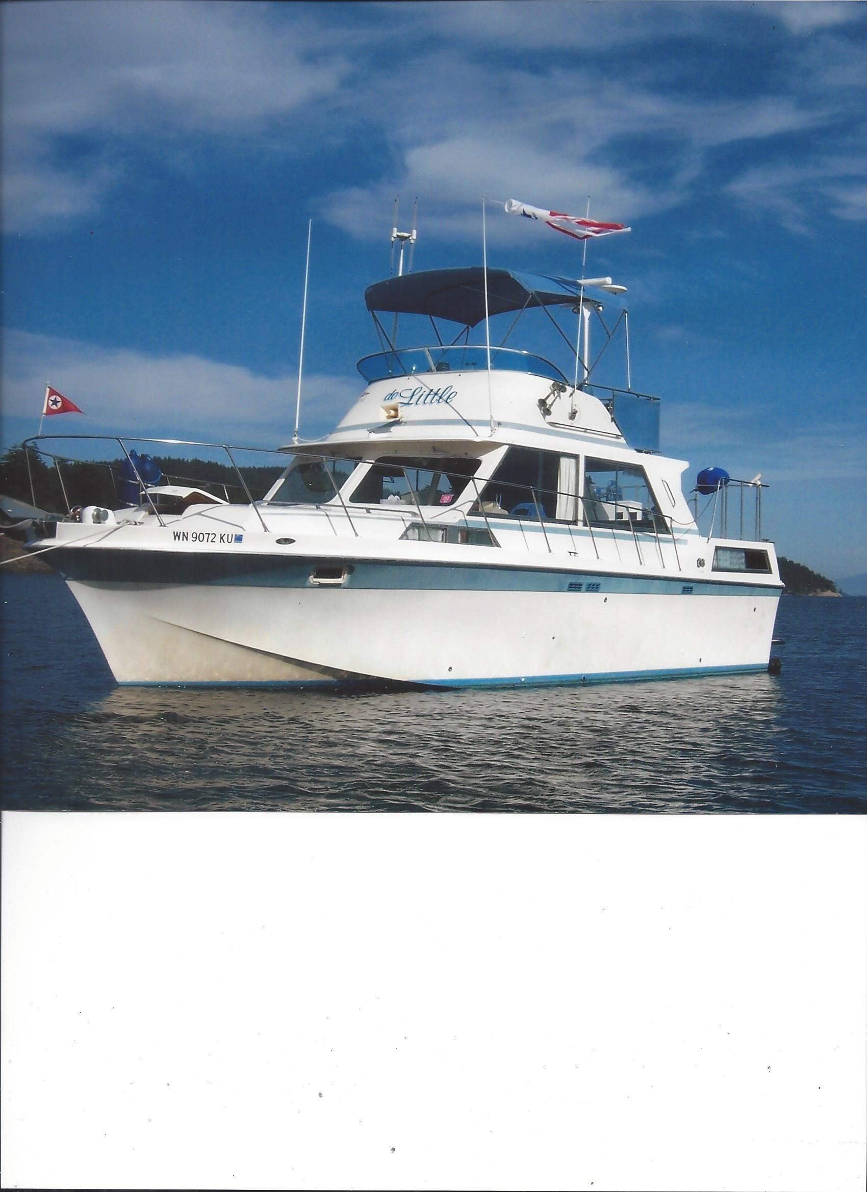 1974 Uniflite Double Cabin Power Boat For Sale Www