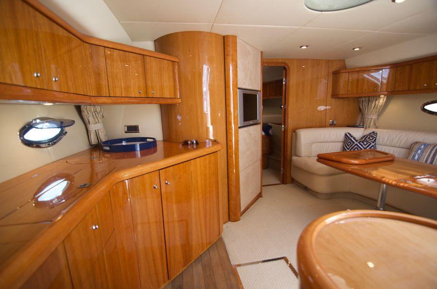 Sunseeker 46 Portofino Yacht Salon Interior