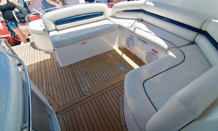 Sunseeker 46 Portofino Yacht Cockpit