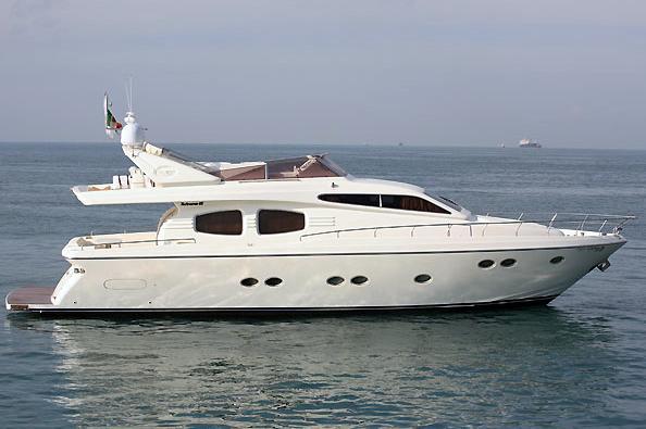Posillipo Technema 65 Type Motor. Yacht better than new