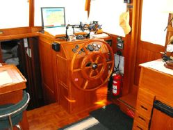 Photo of Grand Banks 42 Heritage Motor Yacht Trawler Galley Down