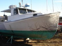 1970 Longliner Gillnetter Commercial Fishing Boat - Offshore Lobster Boat Gill Netter Long Liner