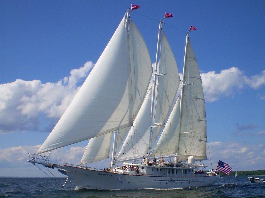 1983Palmer Johnson 157' Staysail Schooner