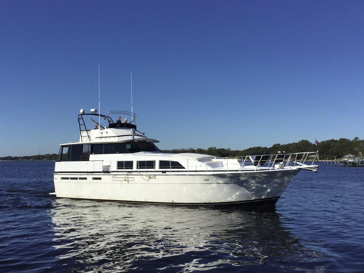 1976 bertram 58 flybridge motor yacht power boat for sale for Port motors west palm beach