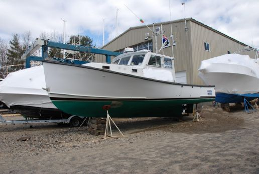 1993 Duffy Lobster Tuna Charter Downeast