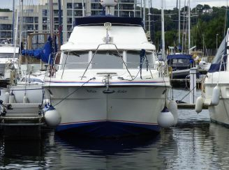 1987 Fairline Corniche 31 Fly
