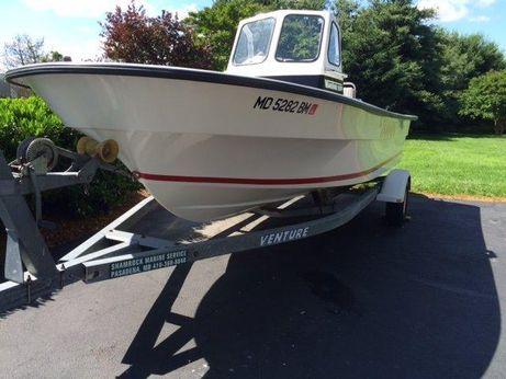 2000 Maritime Skiff 20 Deluxe