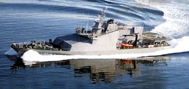 1996 Custom Military Patrol Vessel