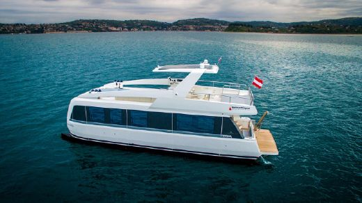 2018 Overblue Yachts Overblue 44' Motor Yacht