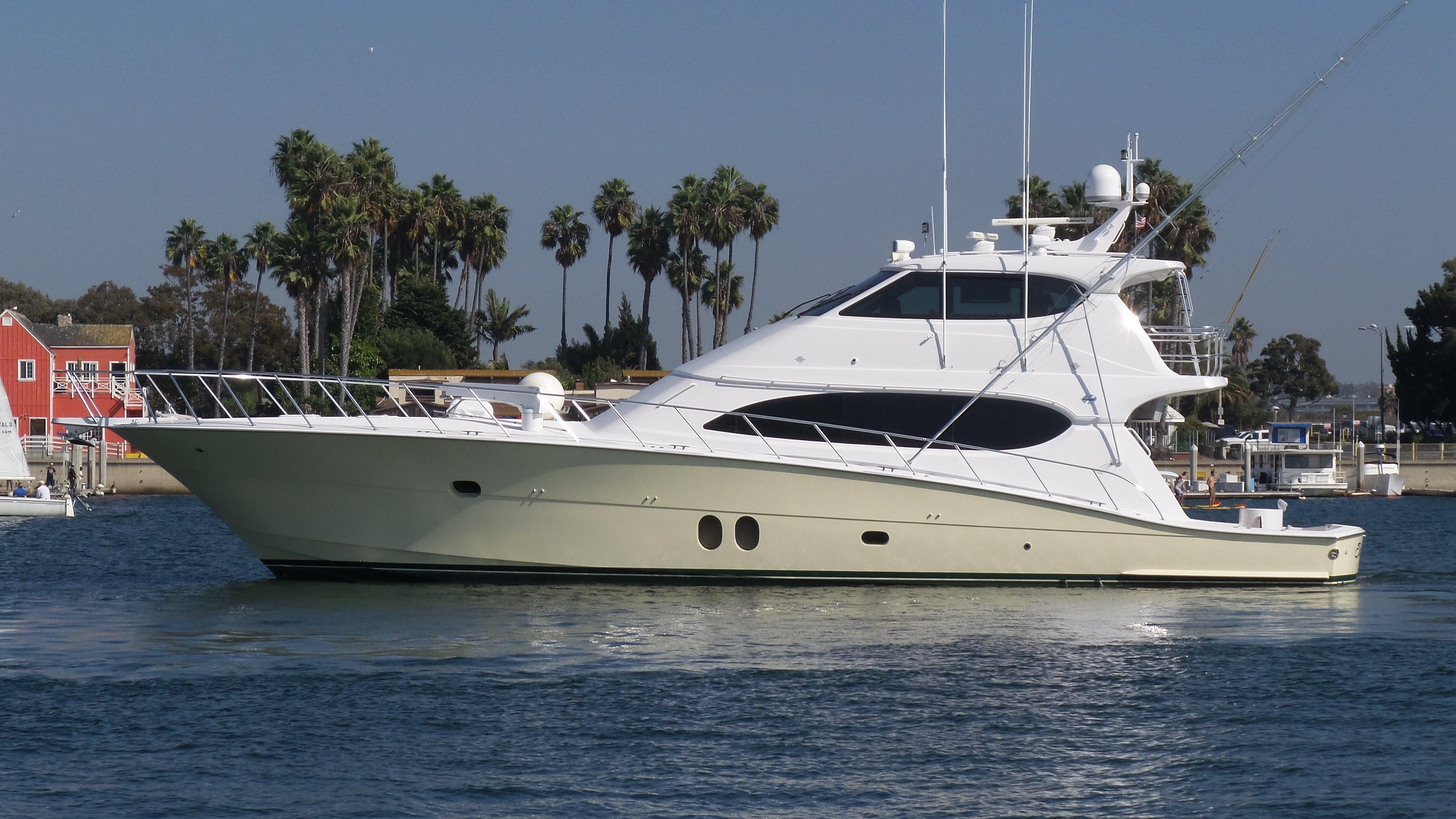 2010 hatteras 77 convertible power boat for sale www for Hatteras fishing boat