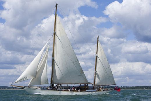 1929 John Thornycroft 80 ft Bermudan Ketch