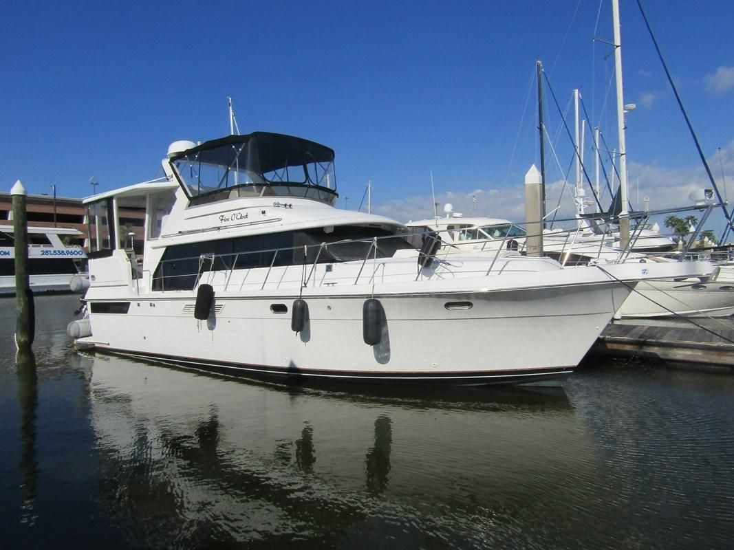 1996 carver 440 aft cabin motor yacht power boat for sale for Carver aft cabin motor yacht