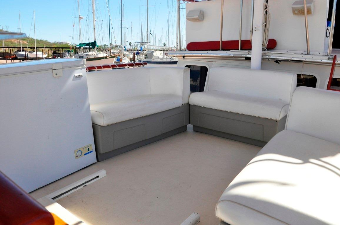 48' Californian LRC LRC Trawler+Upper deck and upper helm