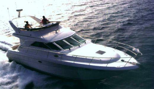 1997 Sea Ray 400 Sedan Bridge