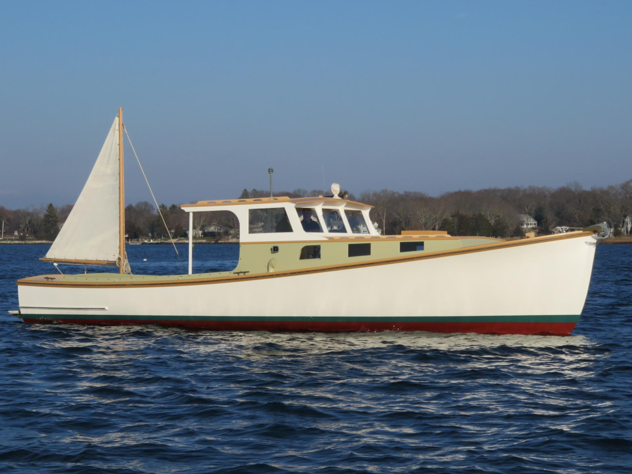 1955 Rockland Boat Company Lobster Boat Power Boat For Sale - www.yachtworld.com