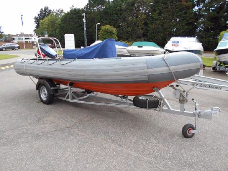 1990 Avon 5.4m SeaRider RIB