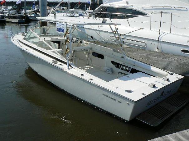 1975 Bertram 26 Moppie Qsd Axius Power Boat For Sale Www