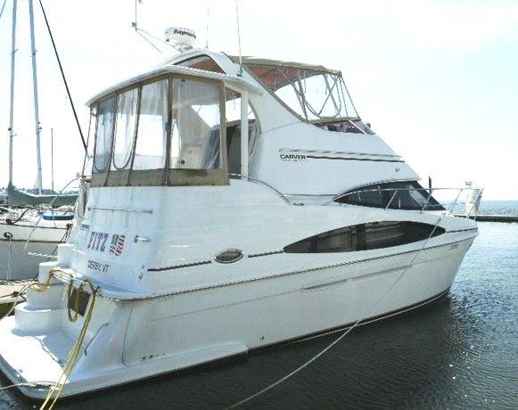36 ft 2003 carver 366 aft cabin motor yacht