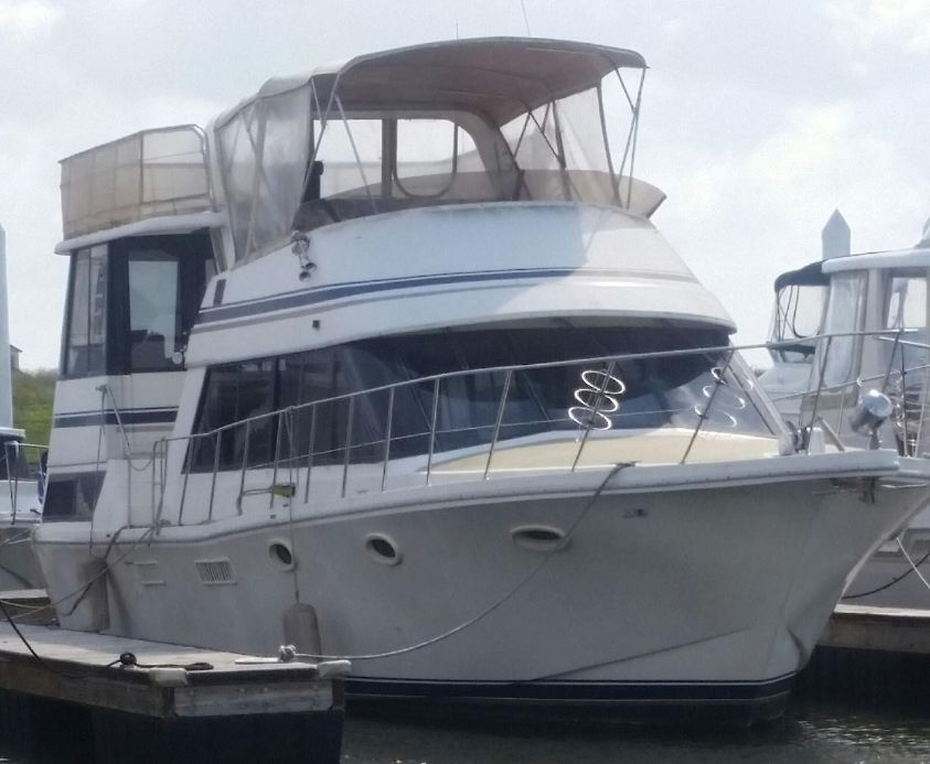 1985 bluewater yachts 46