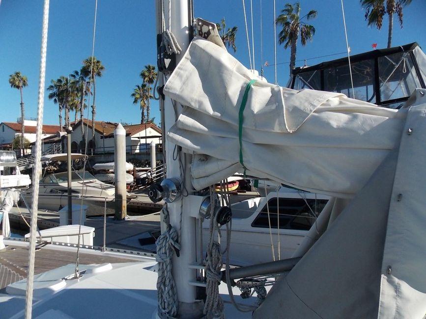 Norseman n400 Stowed Sails