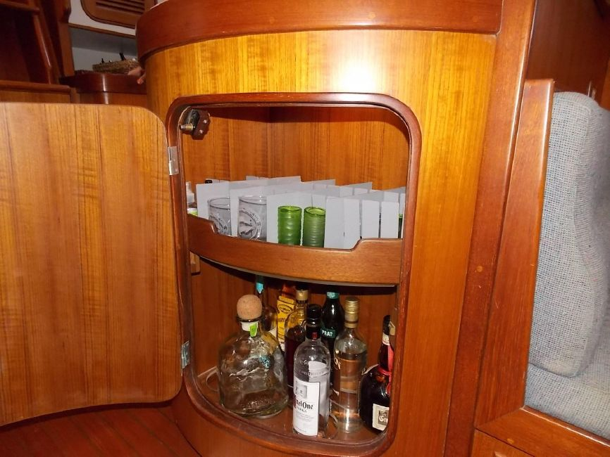 Norseman N400 Drink Storage