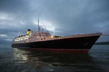 1961 Clasic Cruise Ship, 524 Passengers -Stock No. S2110
